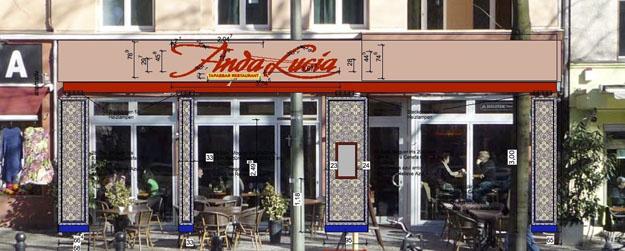 AndaLucia-Tapas-Bar-Michael-Lieb-Arch-Fassade AndaLucia Tapas Bar